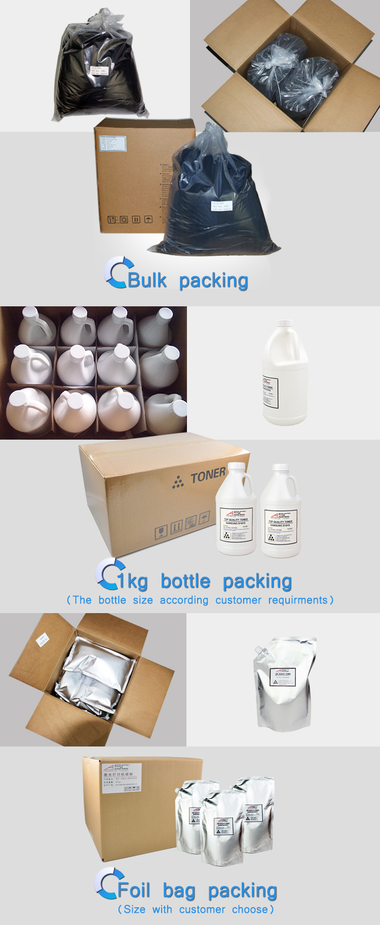TONER PACKING